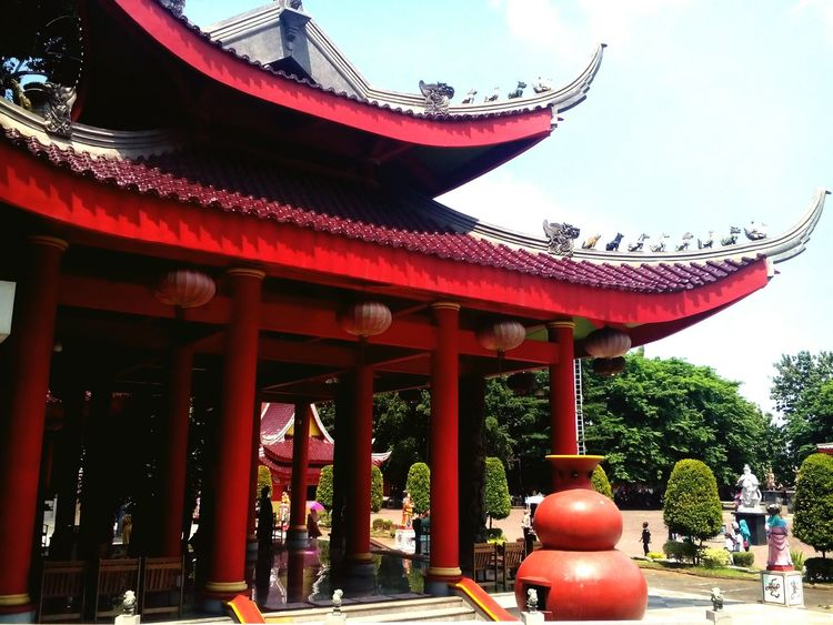 Peace And Love Temple - Building Chinese Temple History Architecture