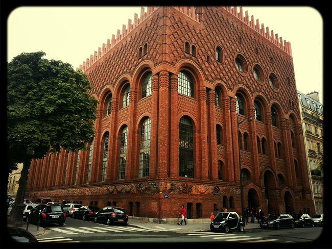 Belíssimo prédio do instituto de história da arte da Universidade de Sorbonne.