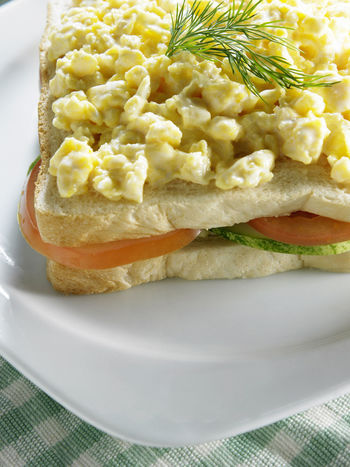 nutrition breakfast with egg sandwich Breakfast Meal Appetizing  Bread Breakfast Set Cafe Close-up Day Delicious Dine Egg Egg Sandwich Food Food And Drink Freshness Healthy Healthy Eating No People Plate Protein Ready-to-eat Scrambled Eggs Set Meal Slices Of Bread Tomato