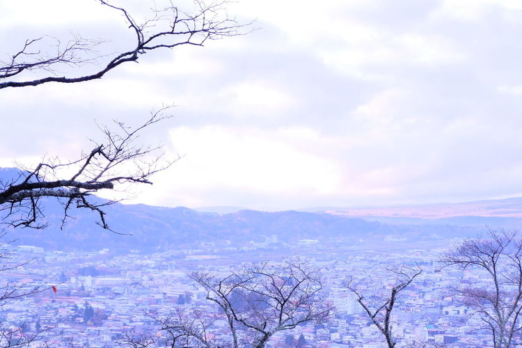 Nature Beauty In Nature Landscape Winter Tree Cold Temperature Sky No People Freshness Mountain Outdoors Cloud - Sky Background Photography Memories ❤ Colour Of Life Fujifilm Captured Moment Travel Destinations Autumn Leaves Autumn Collection Day
