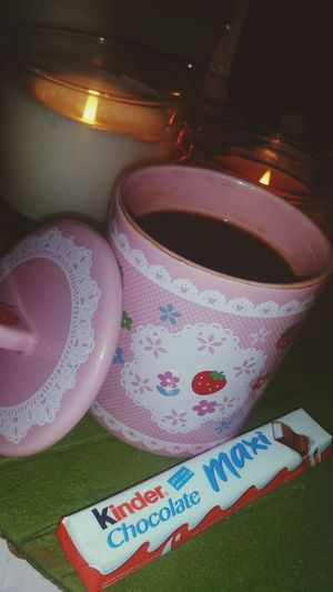 القهوه صديقة الوحده