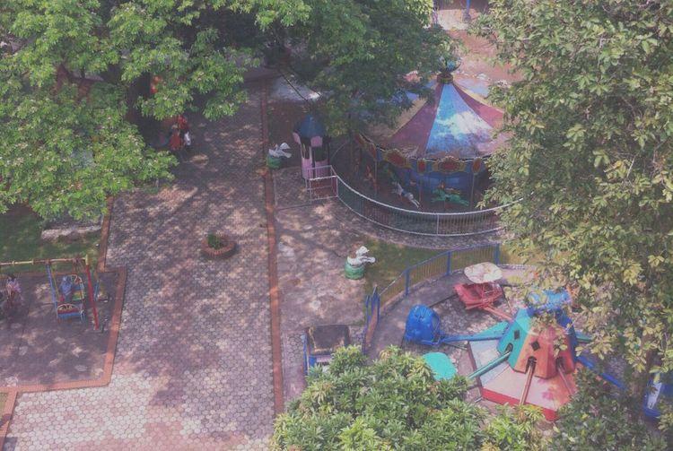 Playground Enjoying Life Play Station