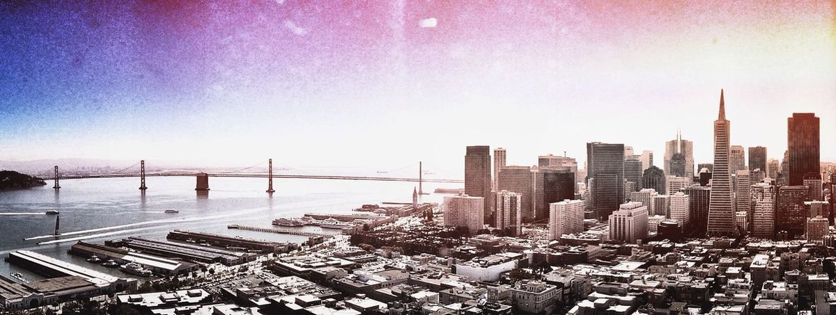 San Francisco with a heavy Filter in 2013 What I Want To Shoot With A 360 Panono Camera