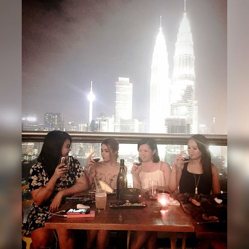 💕Spend more time with Girlfriendforever Better Together Having Fun Enjoying Life We Are Young Best Moments Enjoying The View Faces Of EyeEm Love Beautiful Asian Girl Feeling Happy Love My Self <3 Follow_me Friendship Goals💕