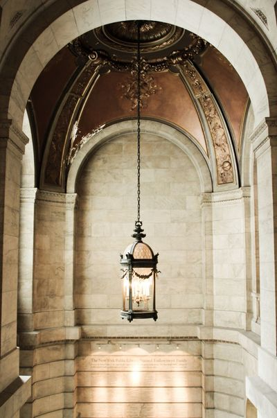 New York national public library Architecture Arch Architectural Feature Architectural Detail Architectural Column Building Building Interior Walls Soft Light Showcase July Light Lights Ceiling Lights Ceiling Public Building Library Still Life Tranquil Scene Tranquility Silence New York No People Hidden Gems