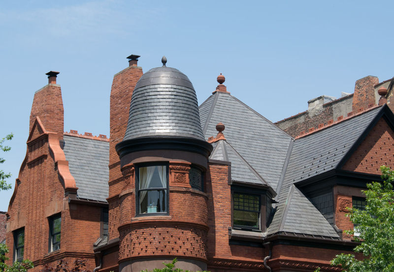 Architecture Brooklyn Building Exterior Clear Sky House Low Angle View Park Slope Roof