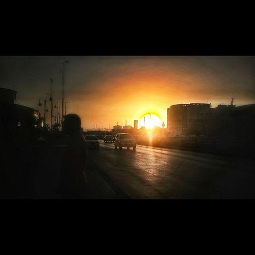 Riyadh sunset... 275 Wakoko Instanewday Instagramthatsupe