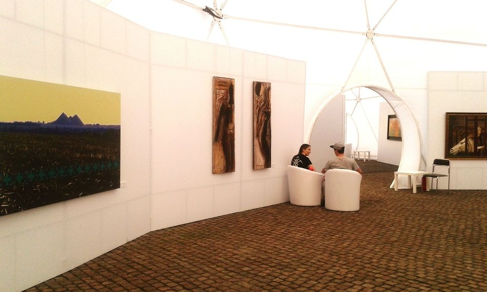 Exhibition Ukraine_art Oblique Caponier Kiev Ukraine Art Dialog
