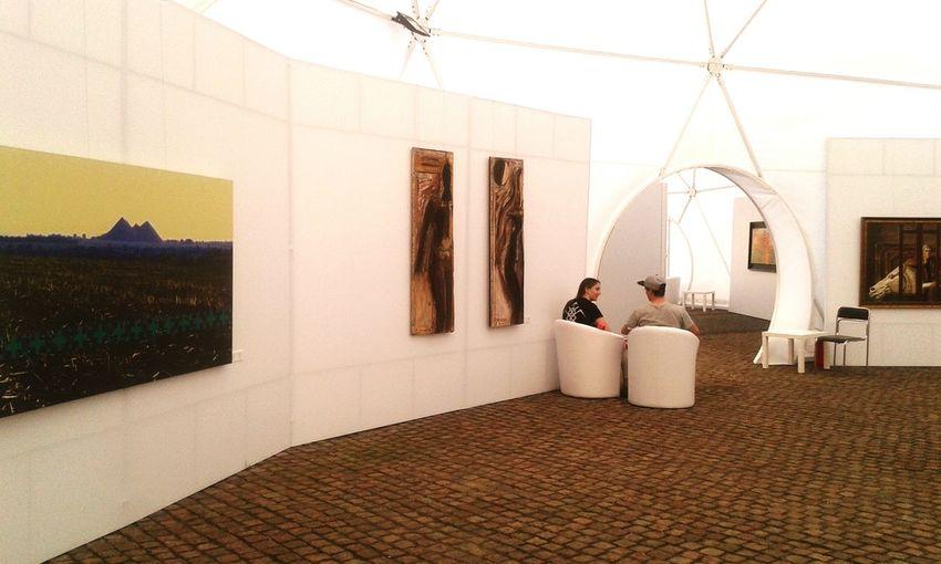 Exhibition Ukraine_art Oblique Caponier Kiev Ukraine Art Dialog