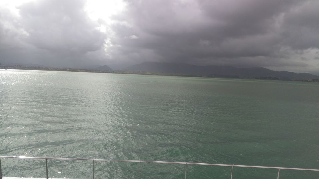 Cloud - Sky Sea Dramatic Sky Water Weather Storm Cloud Sky Storm Nature Outdoors Torrential Rain Scenics Landscape No People Day Beauty In Nature Beach Thunderstorm Nautical Vessel Horizon Over Water