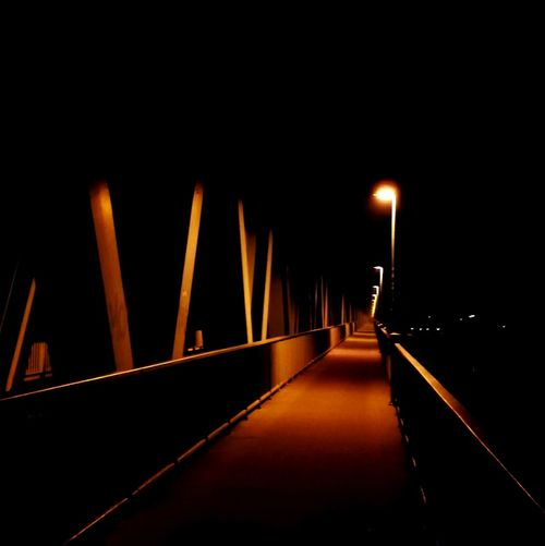 No People Night Red Carpet Event Bridge Lights In The Dark Lights Black Red Outdoors Dark Scary Wheredoesitgo Wheredoesthepathlead My Year My View Architecture Night Lights Nighttime Night City Foggy Evening Fog Lights And Shadows Lights And Reflections Path HUAWEI Photo Award: After Dark