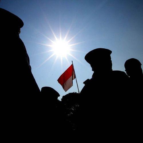 Dirgahayu Negara Kesatuan Republik Indonesia yang ke 69... Jaya terus Bangsaku!!! NKRI TNI DirgahayuTNI