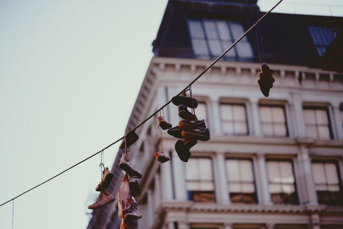 The Street Photographer - 2017 EyeEm Awards Live For The Story New York City Shoestrings EyeEmNewHere Power Line  Art Is Everywhere New Balance Sneakers Out Of The Box EyeEm Selects The Graphic City