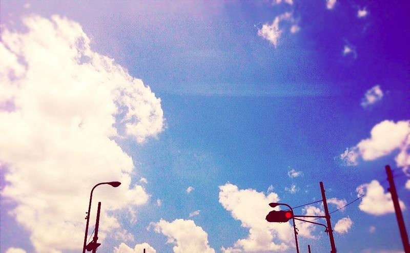 So Hot Sky 暑い! IPhoneography