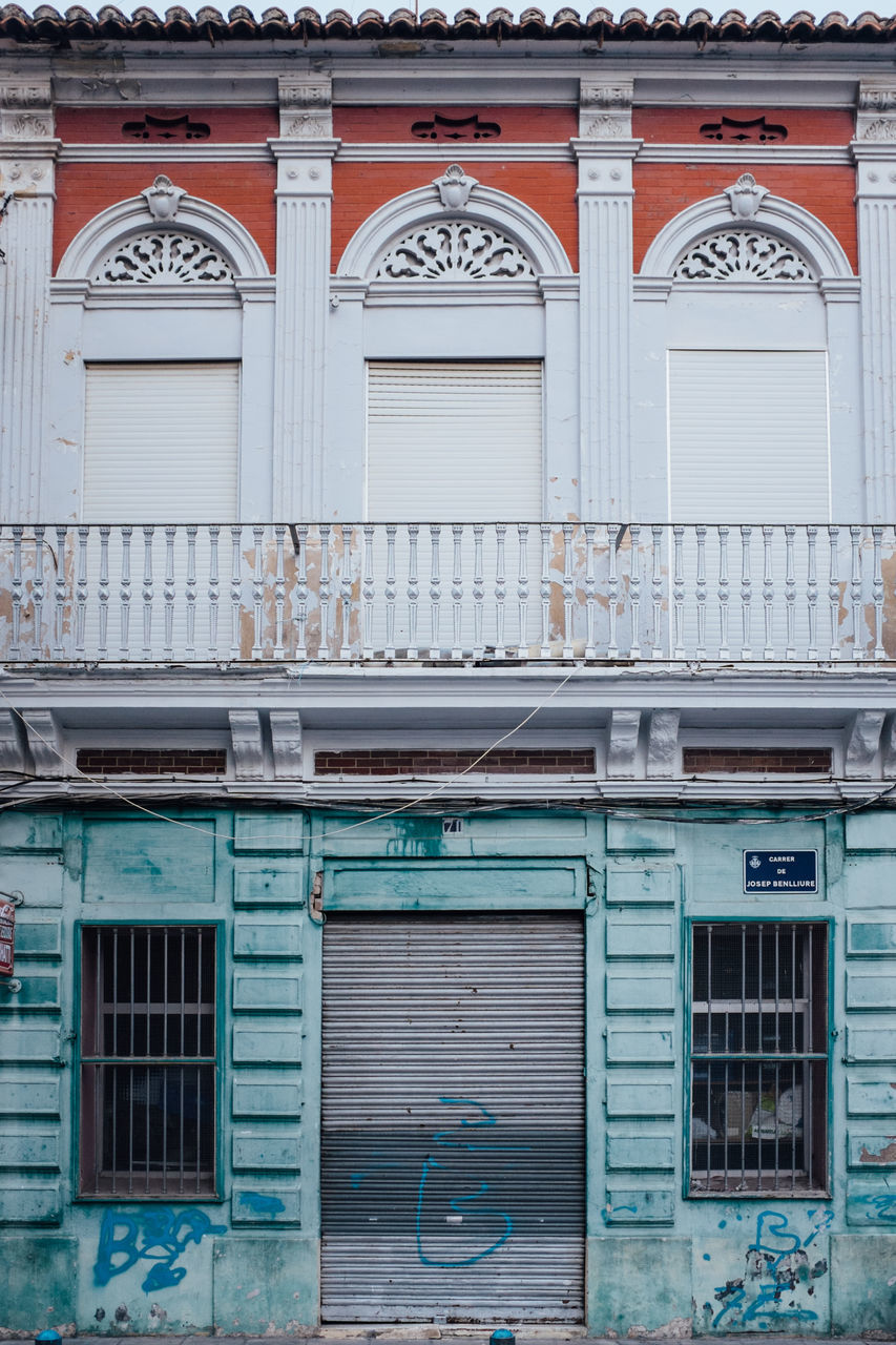 building exterior, window, architecture, full frame, outdoors, no people, shutter, built structure, day