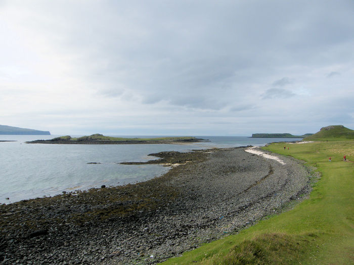 Beach Beauty In Nature Claigan Claigancoralbeach Coastal Landscape Coral Beach, Isle Of Skye Day Dunvegan Horizon Over Water Isle Of Skye Nature No People Outdoors Scenics Scotland Sea Sea Coast Sky Tranquil Scene Tranquility Water