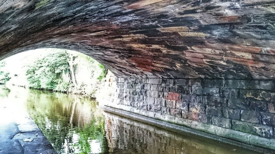 Canal Bridge Colour Water