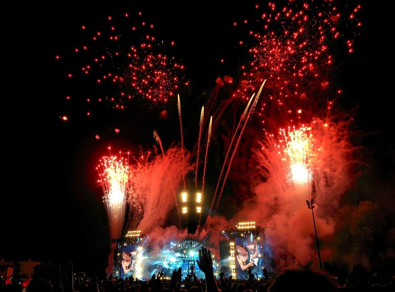 Concert Imola Ac Dc  Rock'n'Roll Fireworks The Purist (no Edit, No Filter) The Story Behind The Picture Music Guitar