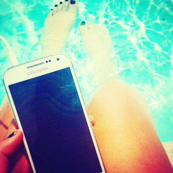 Summertime! Reading & Relaxing Swimming Pool Sun ☀ Summer'14