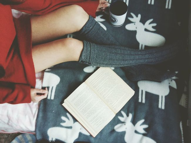 Always Be Cozy Indoors  Day One Person Relaxing Cozy At Home Cozytime Cozy Just Chillin' People Holding Adult Mug Book Reading