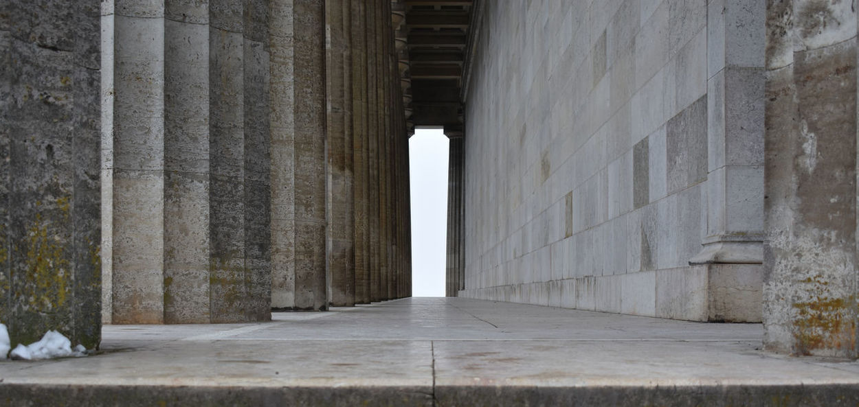 Nikon D3400 Out Of Cam Architecture EyeEmNewHere Ancient Architectural Column Built Structure Day History No People Walhalla Memorial
