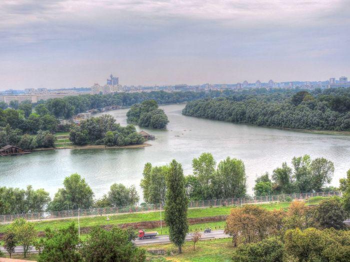 Belgrade City Cityscape Day Denube River Outdoors River Sava River Sky Travel Destinations Water Waterfront