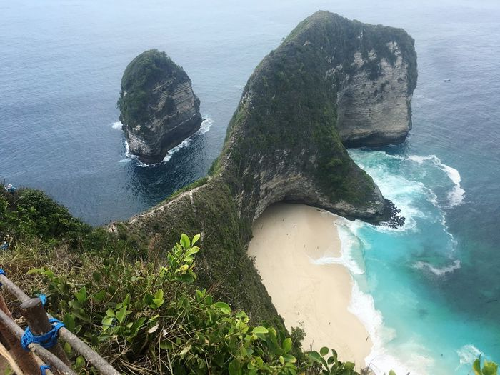 Paradise Swimming Bali Water Sea Land Nature High Angle View Beauty In Nature Beach Tranquility Sky Plant Day Outdoors Scenics - Nature