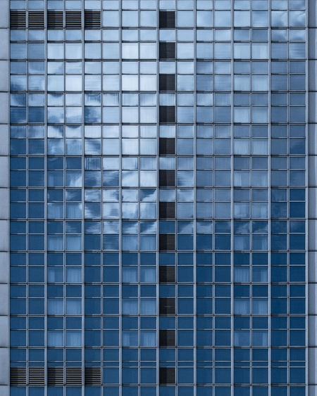 Architecture No People Day Backgrounds Pattern Built Structure Full Frame Office Building Exterior Reflection Modern Shape Building Exterior Design Window Building Geometric Shape Abstract City Repetition Abstract Backgrounds Skyscraper