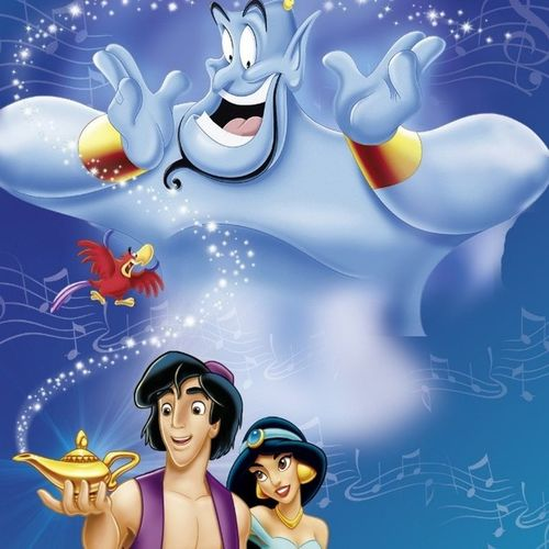 I'm such a bad big sister :/ my brother has never seen Aladdin ... time to change that. Aladdin Genie Alone HomeAlone diseny princessjasmine mychildhood supernatural j2m ~~ I used to have the biggest crush on Aladdin when I was little haha ~~ randomfact