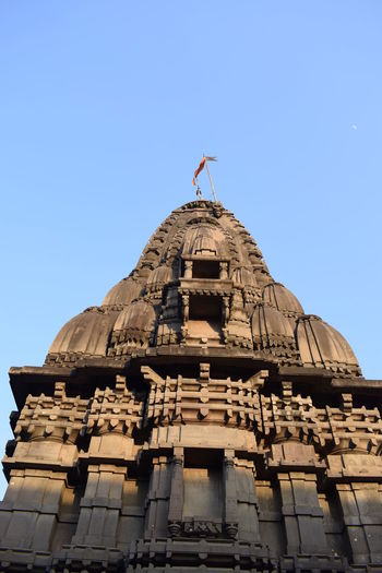Nasik Temple Architecture Building Exterior Built Structure Business Finance And Industry City Clear Sky Day Dome Government Military No People Outdoors Religion Sky Travel Destinations