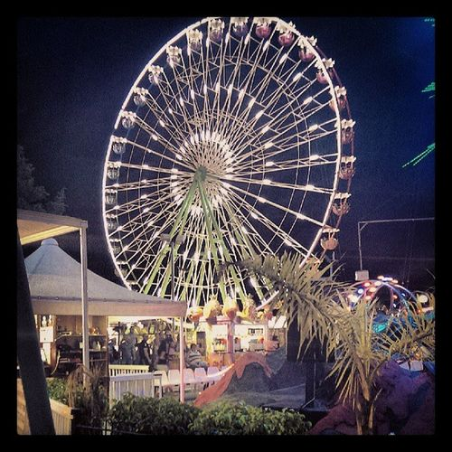 2013 Android Random Capturemoment Igers Instadaily Ig Night Light Funfair Fairground Bigwheel Ferriswheel Ñapa Ayianapa
