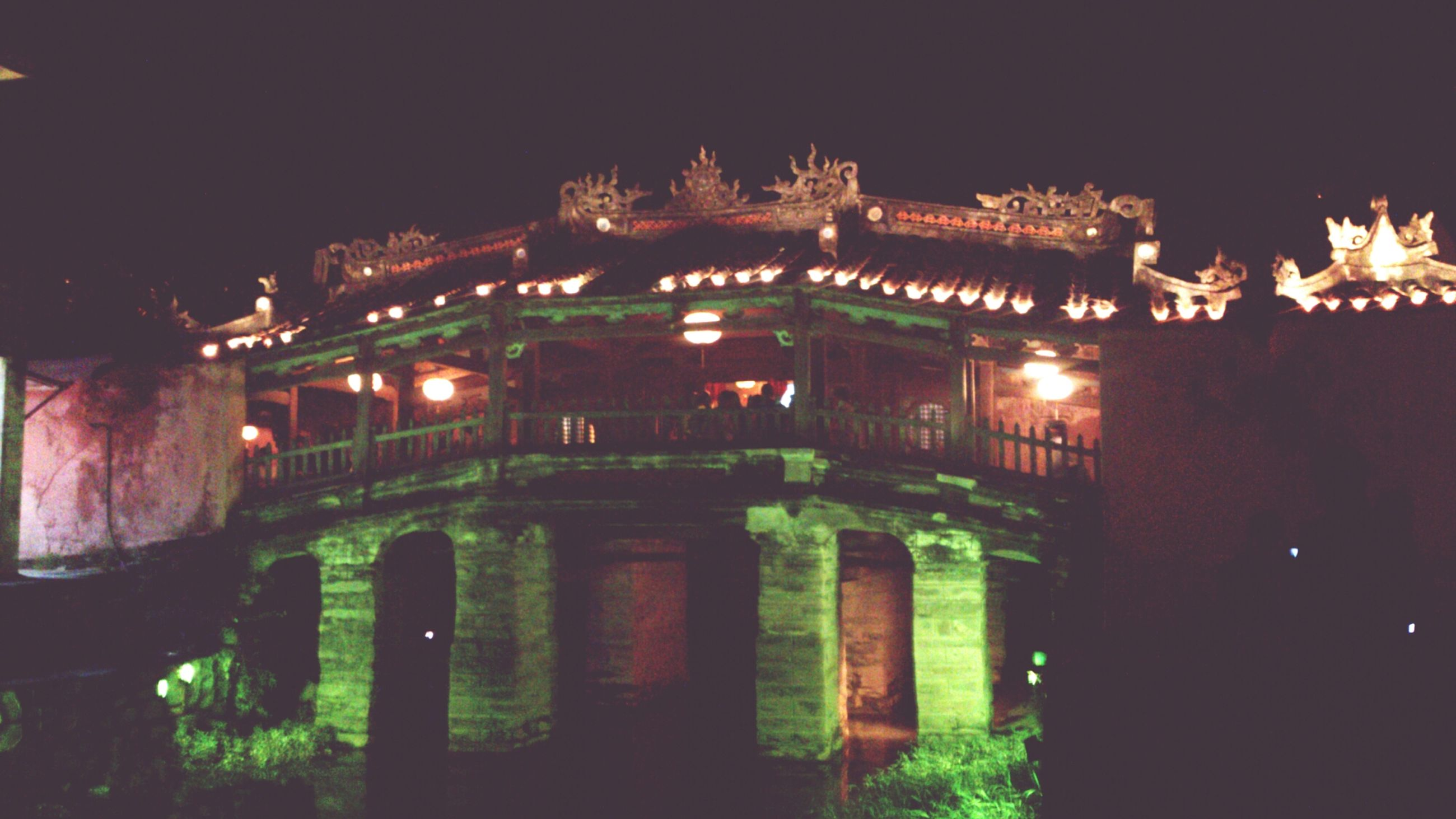night, illuminated, architecture, built structure, building exterior, history, city, outdoors, sky, dark, clear sky, religion, no people, lighting equipment, old, travel destinations, building, place of worship, residential building, facade