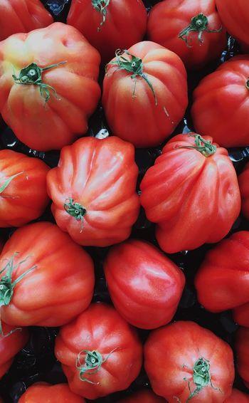 Tomato Tomatoes Abruzzese Periforme Vegetable Abundance Food Market Healthy Eating Large Group Of Objects Freshness Farmer Market Close-up Market Backgrounds Red