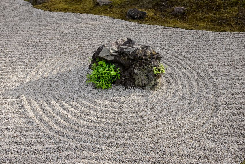 Everything zen at this Japanese zengarden in Kyoto Japan Japanese  Garden Garden Photography Garden Architecture Japan Photography Zen Garden Kyoto Peace And Quiet Landscaping