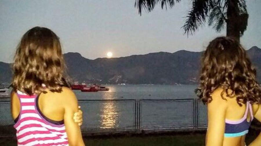 Overnight Success Sky And Sea Nature moon