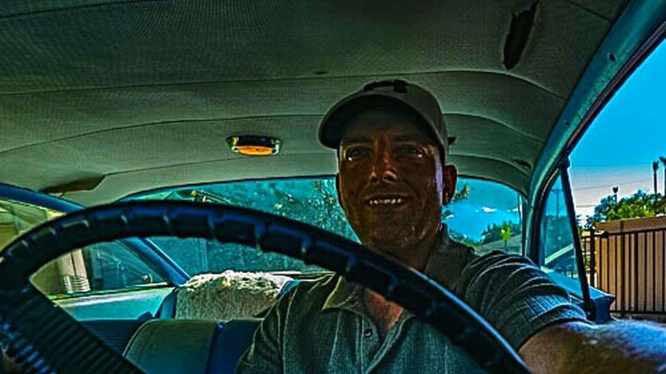 selfie from within 1959-1960 Buick Electra 225. Cool Car Classic Car 1960's 1959 Buick Electra Buick 60's Car 1959