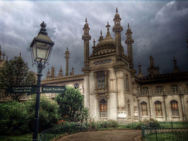 Royal Pavillion, Brighton. Royal Pavilion Gardens Royal Pavilion Brighton Gothic Architecture Gothic Palace