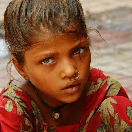 Streetphotography Nehruplace Portrait PoorGirl Malnutrition Boldeyes