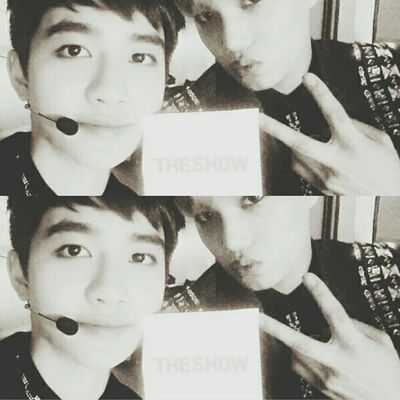 | 140610 | SBS MTV The Show twitter update . Finally, first KaiSoo selca in 2014 . The Show || Kyungsoo Dokyungsoo 都暻秀 嘟嘟 도경수 디오 exok exo exom exotic 엑소 xenpais EXOsmine smpackofwolves exodaebakkk kyungsooish || follow @d.otv