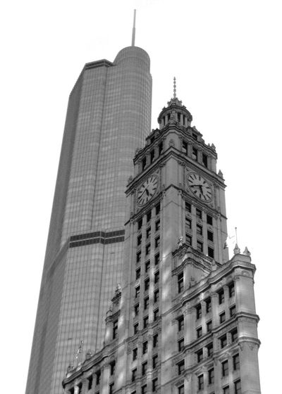 Chicago Wrigley Building Architecture Building Building Exterior Built Structure City Clear Sky Day Financial District  History Low Angle View Nature No People Office Building Exterior Sky Skyscraper Spire  Tall - High The Past Tourism Tower Travel Destinations