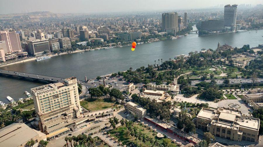 Balloons over cairo