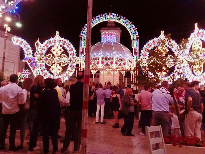 Patronal Feast People Lights I Love My City