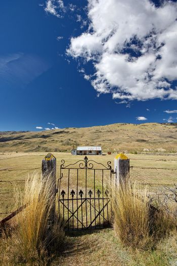 The gateway, Nevis Valley, NZ. Back Country Blue Blue Sky Cloud Cloud - Sky Clouds And Sky Countryside Day Dramatic Landscape Farm Landscape Nevis Nevis Valley New Zealand No People NZ Outdoors Remote Rural Scene Scenics Tranquil Scene Tranquility White Clouds