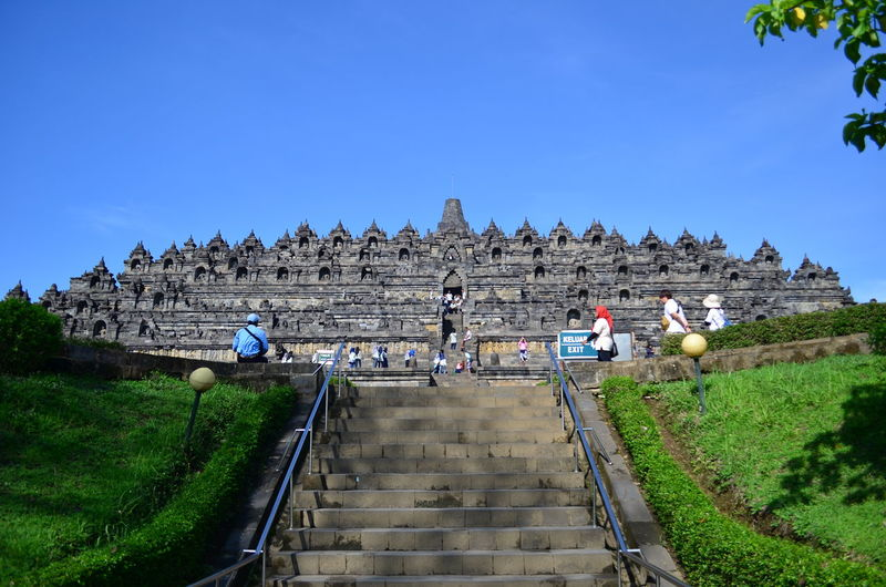 Borobodur temple in Jogjakarta Borobudur Jogjakarta Yogyakarta INDONESIA Temple Buddhist Old