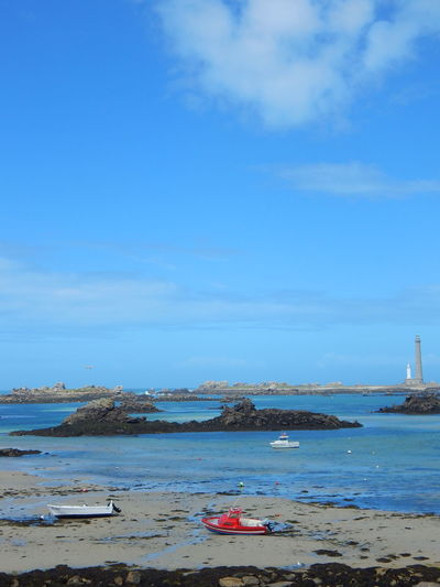 Beautiful Beauty Beauty In Nature Bretagne Clouds And Sky Coastline Colorful Colors EyeEm EyeEm Best Shots EyeEm Gallery EyeEm Nature Lover Finistere France Landscape Lighthouse Lilia Nikon Ocean Phare De L'île Vierge Photo Photography Sky