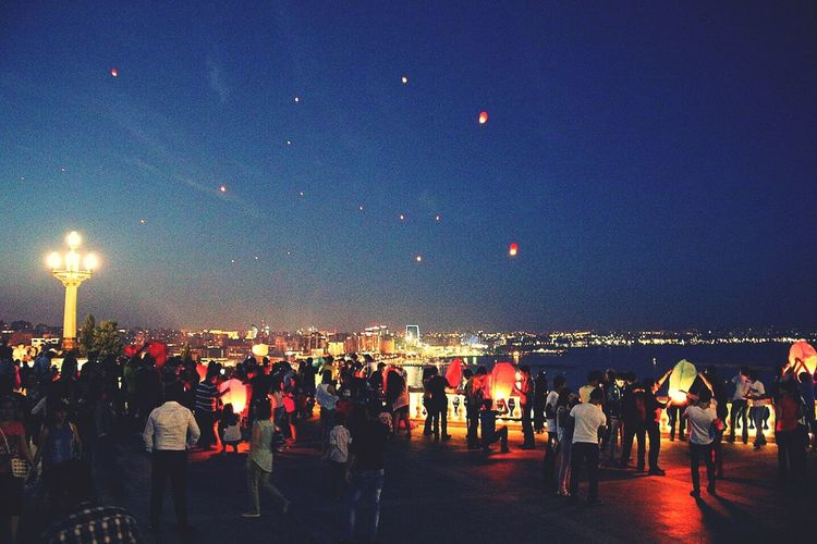 Baku EyeEm Azerbaijan Meetup Popular Photos Night Lights photo by me