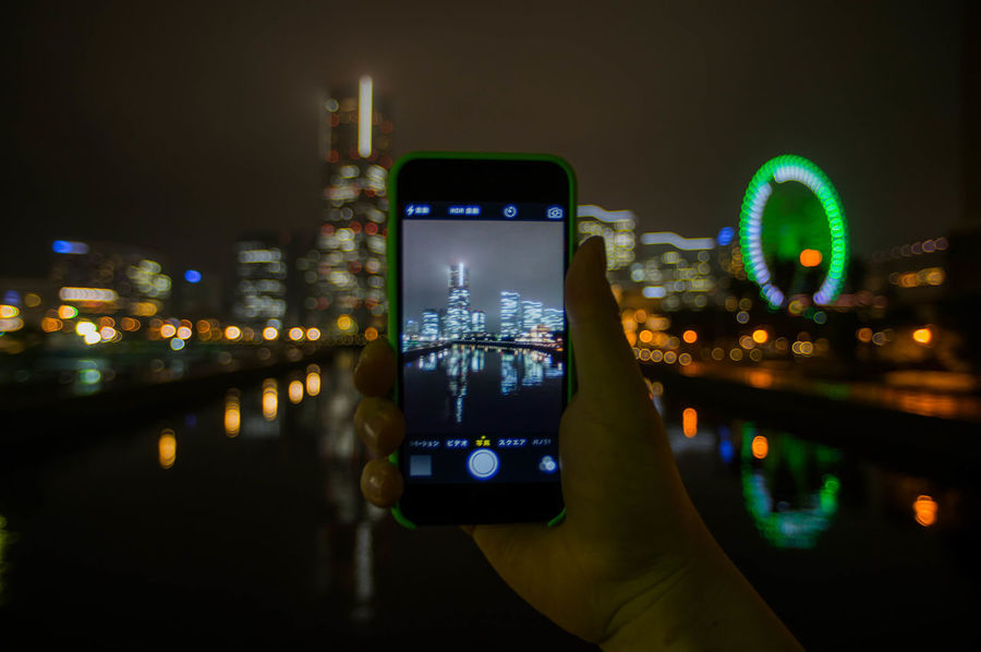 Night viewing with iPhone. IPhone Pentax K-3 Pentax Nightphotography First Eyeem Photo