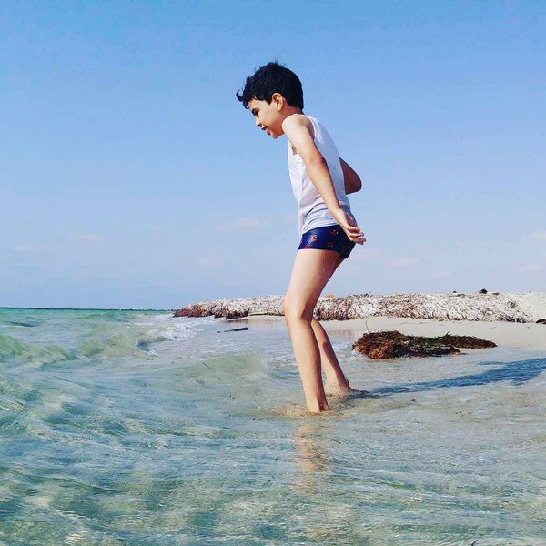 Sea Child ابتسم Libya Taking Photos بنغازي❤ Benghazi Tripoli بنغازي EyeEm Selects Close-up This Week On Eyeem Check This Out