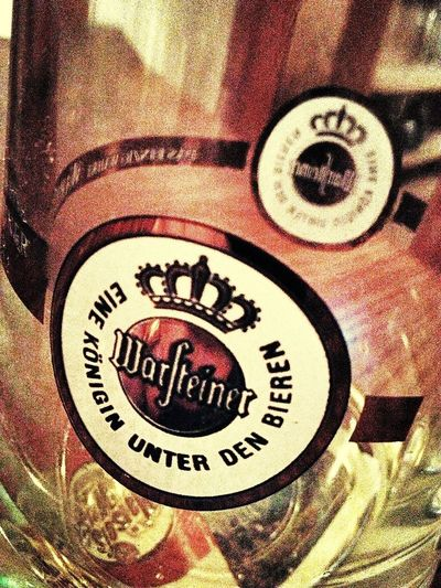 Beer Warsteiner Germany