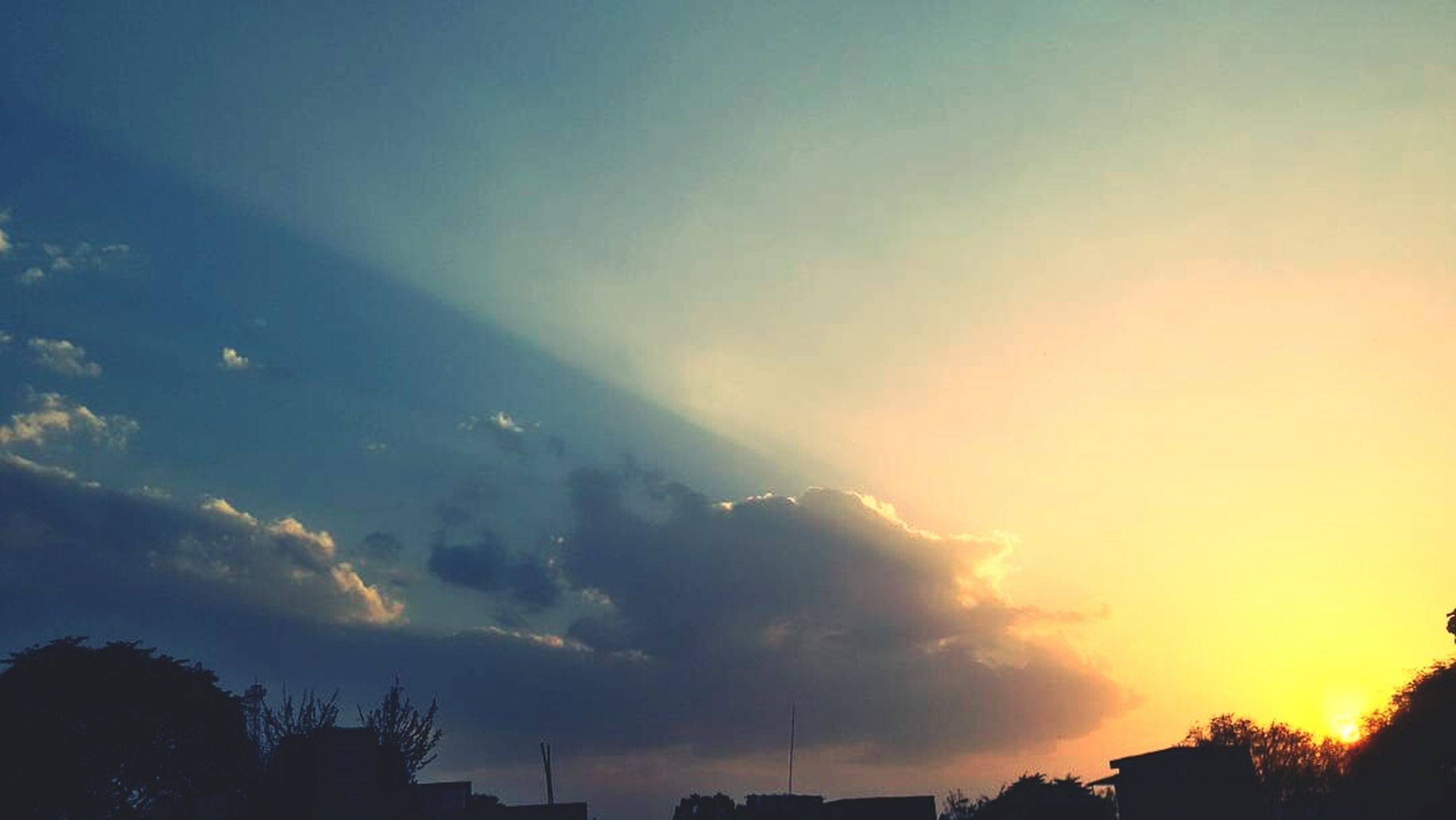 sunset, sky, cloud - sky, nature, social issues, no people, outdoors, beauty in nature, day